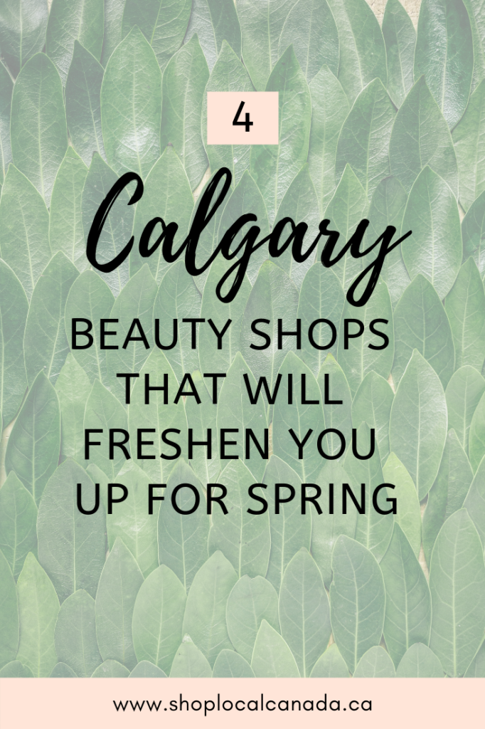 Calgary Beauty Shops, Gimme Some Sugar, Calgary Business, Vossity Beauty, Almandine Wellness, Wake Up & Glow, Shop Local YYC, Calgary Beauty, Shop Local CANADA