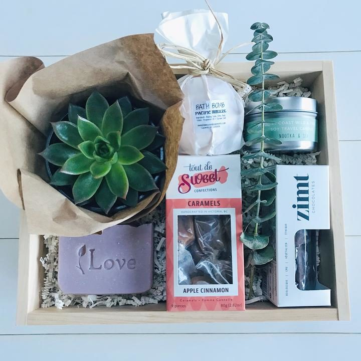Pure Gift Boxes, Shop Local CANADA, Made in Squamish British Columbia, Valentine's Day Gift Ideas Canada, Canadian Boutiques, Made in Canada