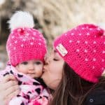Mommy and me matching sets, Katie's Crochet Cutie, Shop Local New Brunswick, Shop Local CANADA
