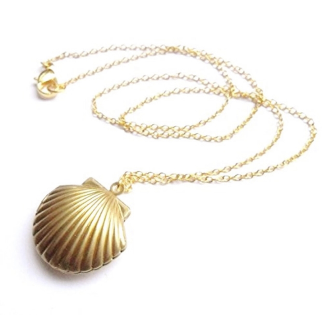 Sea Shell JEwellery, Shell Jewelry, Canadian Boutiques, Shop Local CANADA, Peony and Peridot