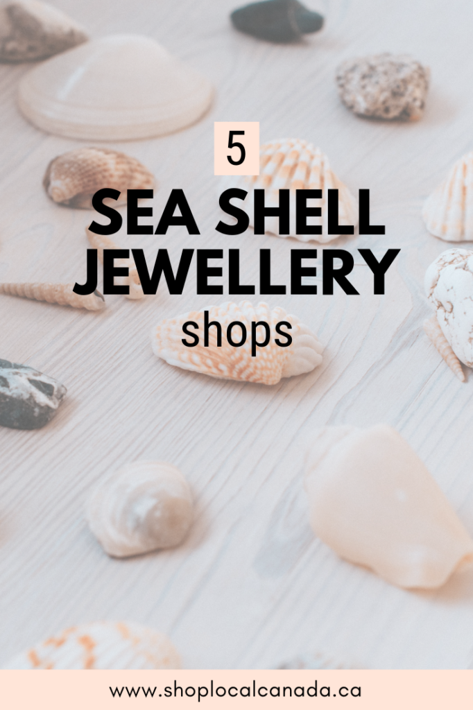 Sea Shell Jewellery, Sea Shell JEwelry, Shop Local CANADA, Online Shopping Canada, Shell Necklace, Canadian Boutique