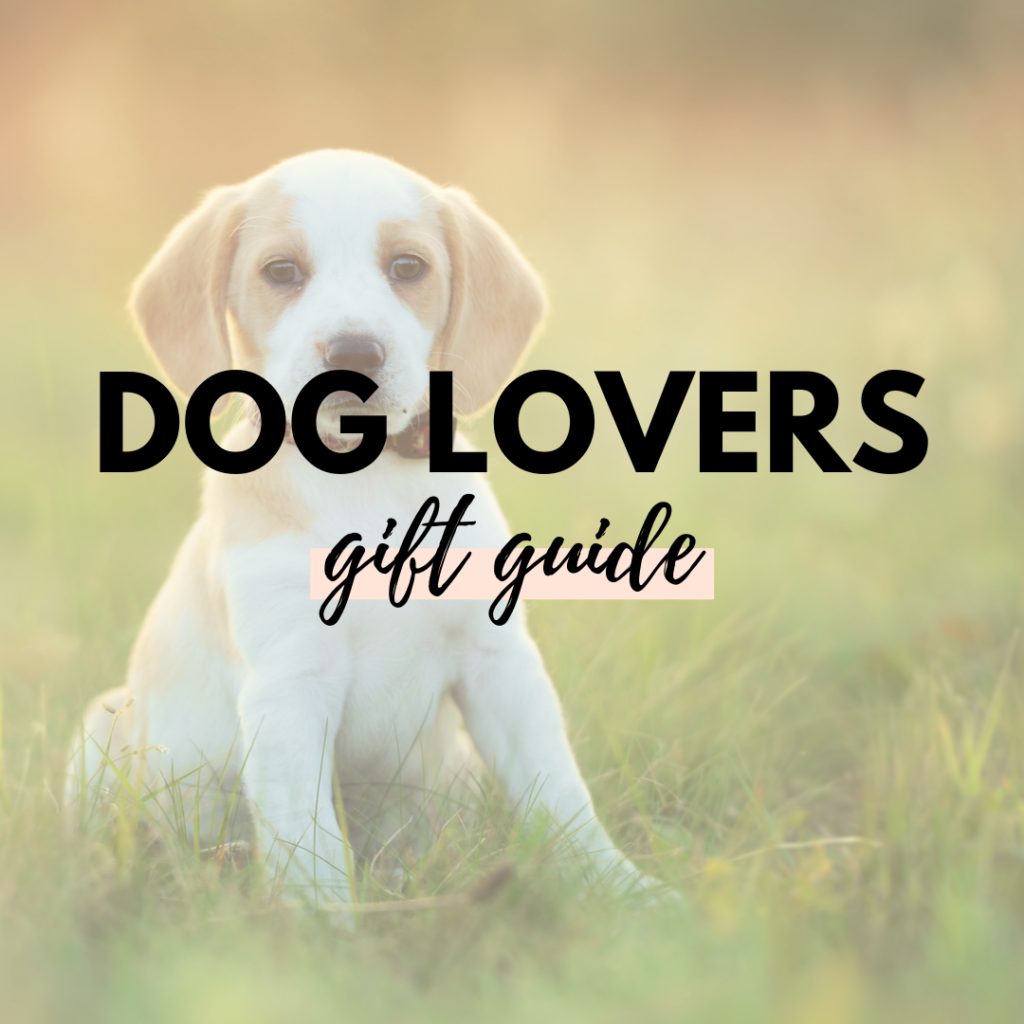 Dog Lovers Canadian Gift guide