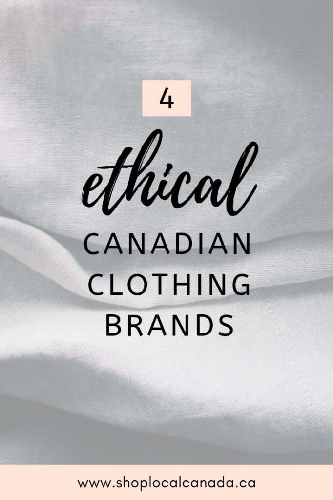Ethical Clothing Canada, Sustainable Clothing Canada, Slow fashion Canada, Slow Fashion, Sustainable Fashion, Shop Local CANADA