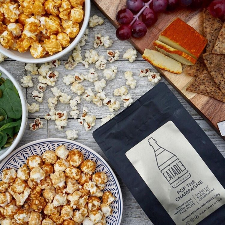EATABLE Popcorn, Behind The Biz, Shop Local Toronto, Shop Local CANADA, Gourmet Popcorn