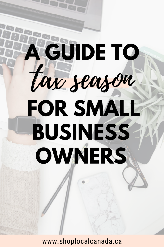 Tax season guide for small business owners in Canada
