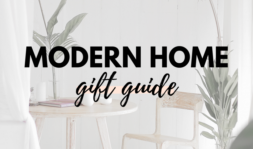 Canadian Modern Home Gift Guide