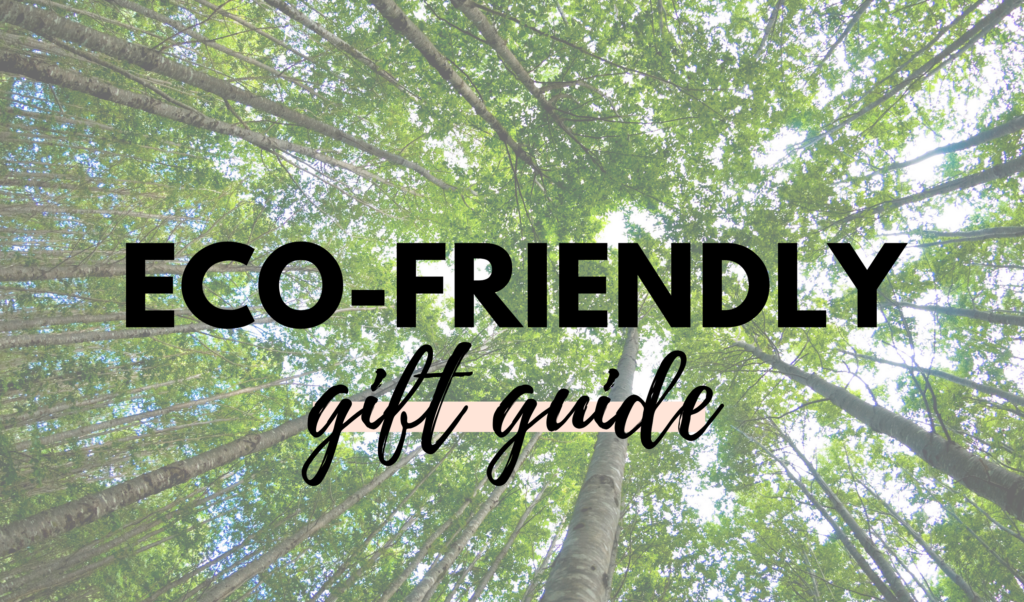 Canadian Eco-Friendly Gift Guide, Shop Local Canada