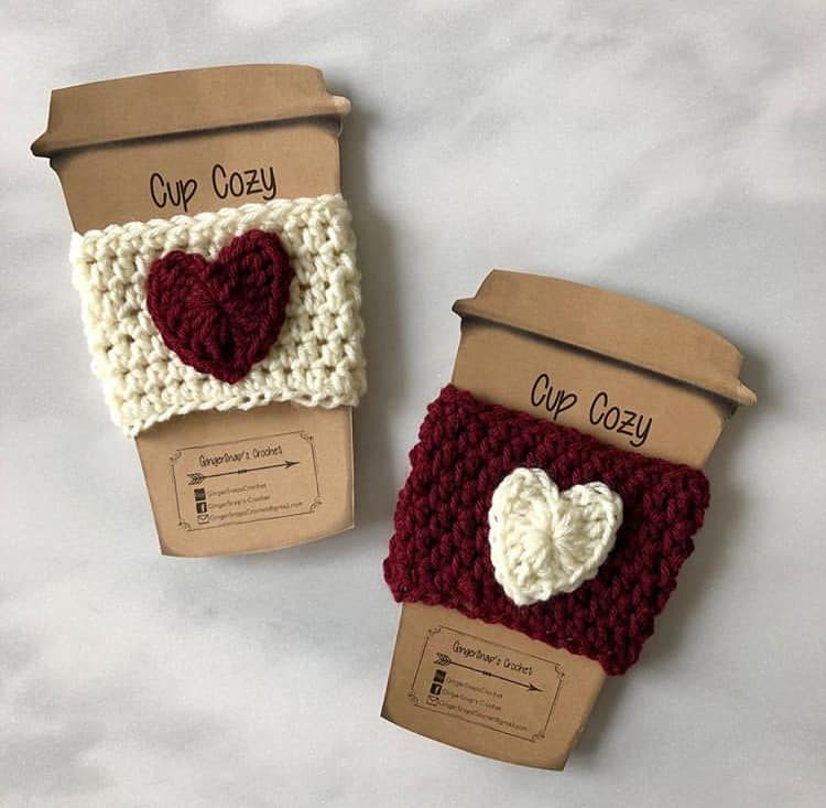 GingerSnap's Crochet, Cuz cozie Canada, Shop Local CANADA, Valentine's Day Gift Ideas Canada, Made in Vancouver