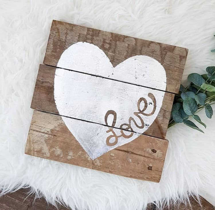 Rural Creative, Shop Local CANADA, Shop Local YYC, Valentine's Day Gift Ideas, Reclaimed wood signs, Modern farmhouse home decor, Canadian shops, Made in Canada