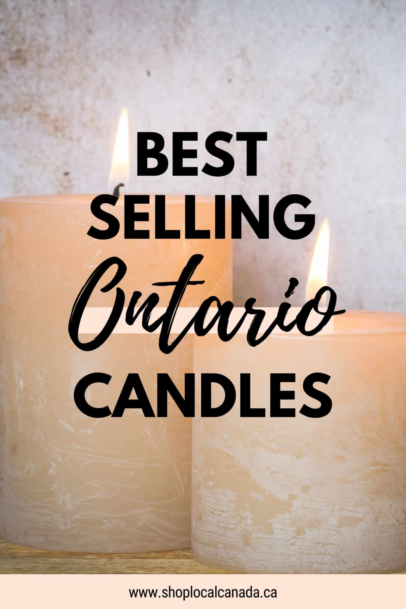 Best Selling Ontario Candles