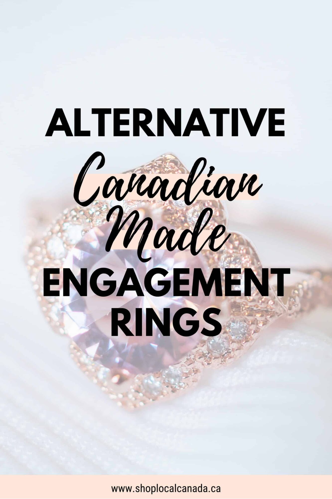 Alternative Canadian Made Engagement Rings