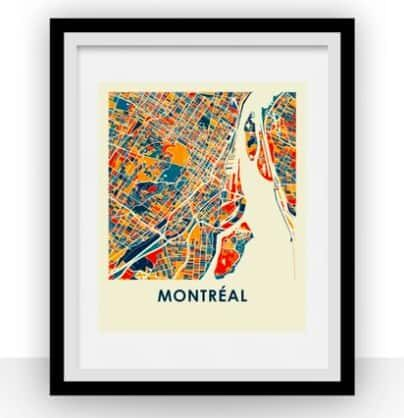 Montreal Map