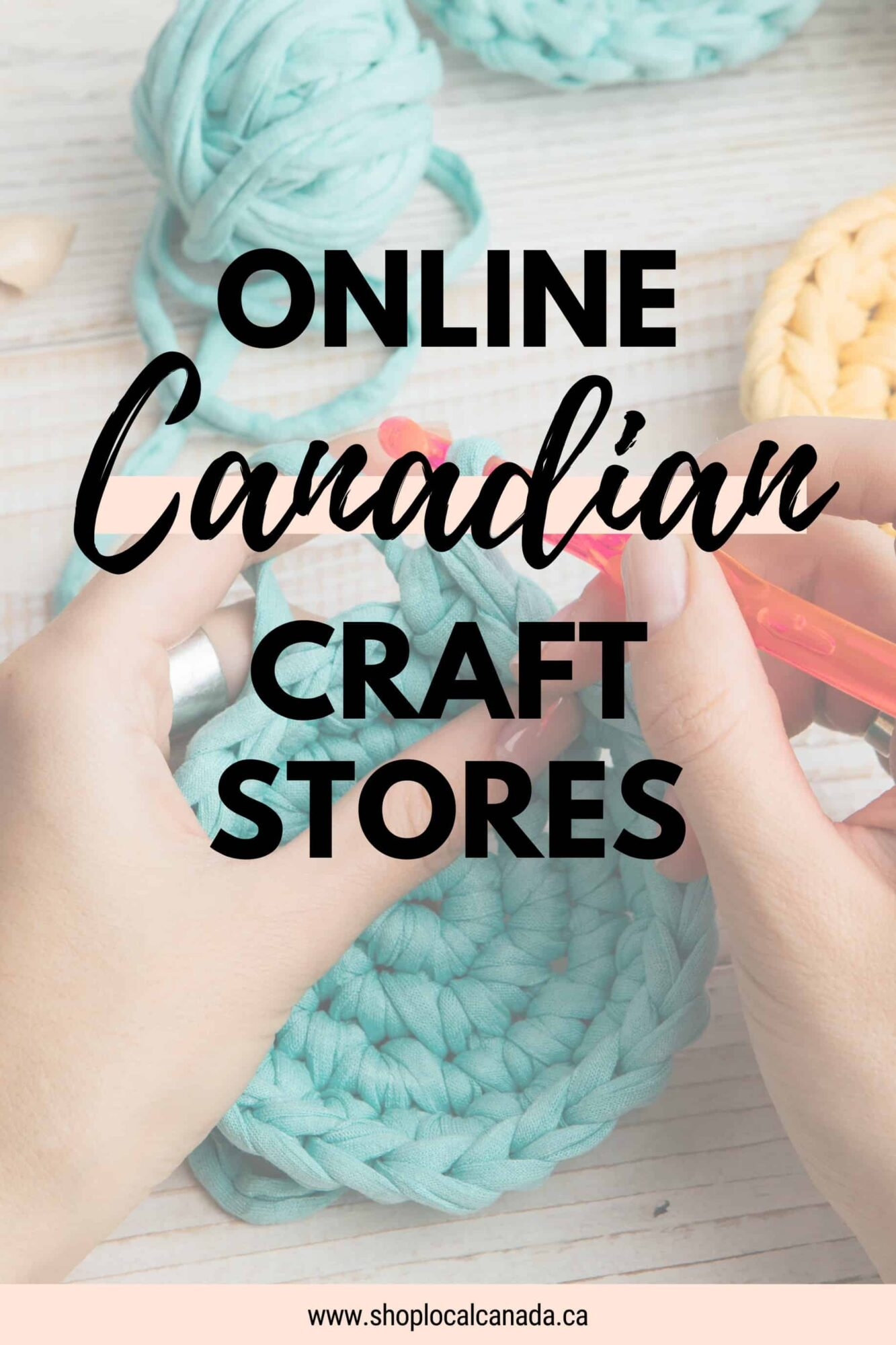 Online Canadian Craft Stores