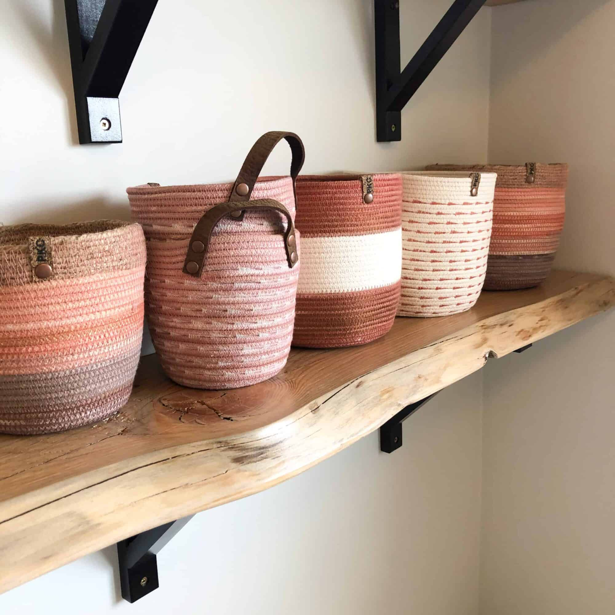 Canadian Made Rope Planters